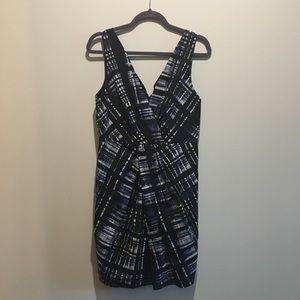 Banana Republic Print Dress size 10